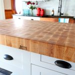 John Boos butcher block countertop