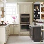 off-white kitchen cabinets kemper