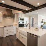 white kitchen cabinetry homecrest