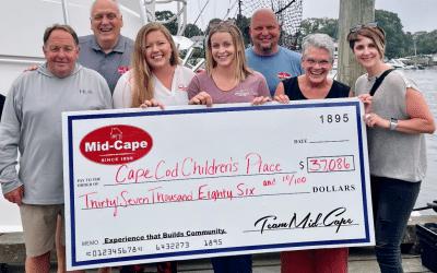 Mid-Cape Home Centers raise over $38,000 for Cape Cod Children's Place