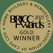 bricc awards gold winner 2021